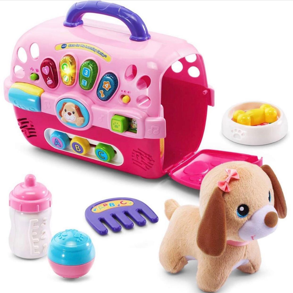 Set Cachorro rosado