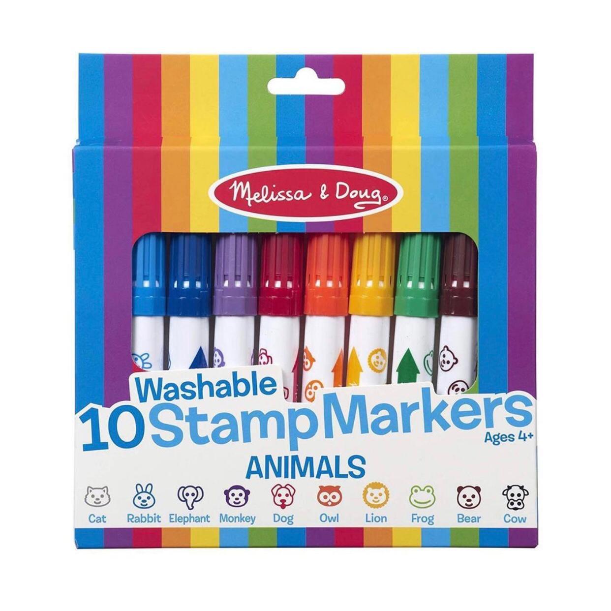 Marcadores de sellos animales