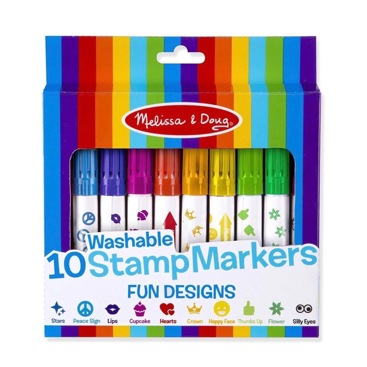 Marcadores de sellos diseños divertidos