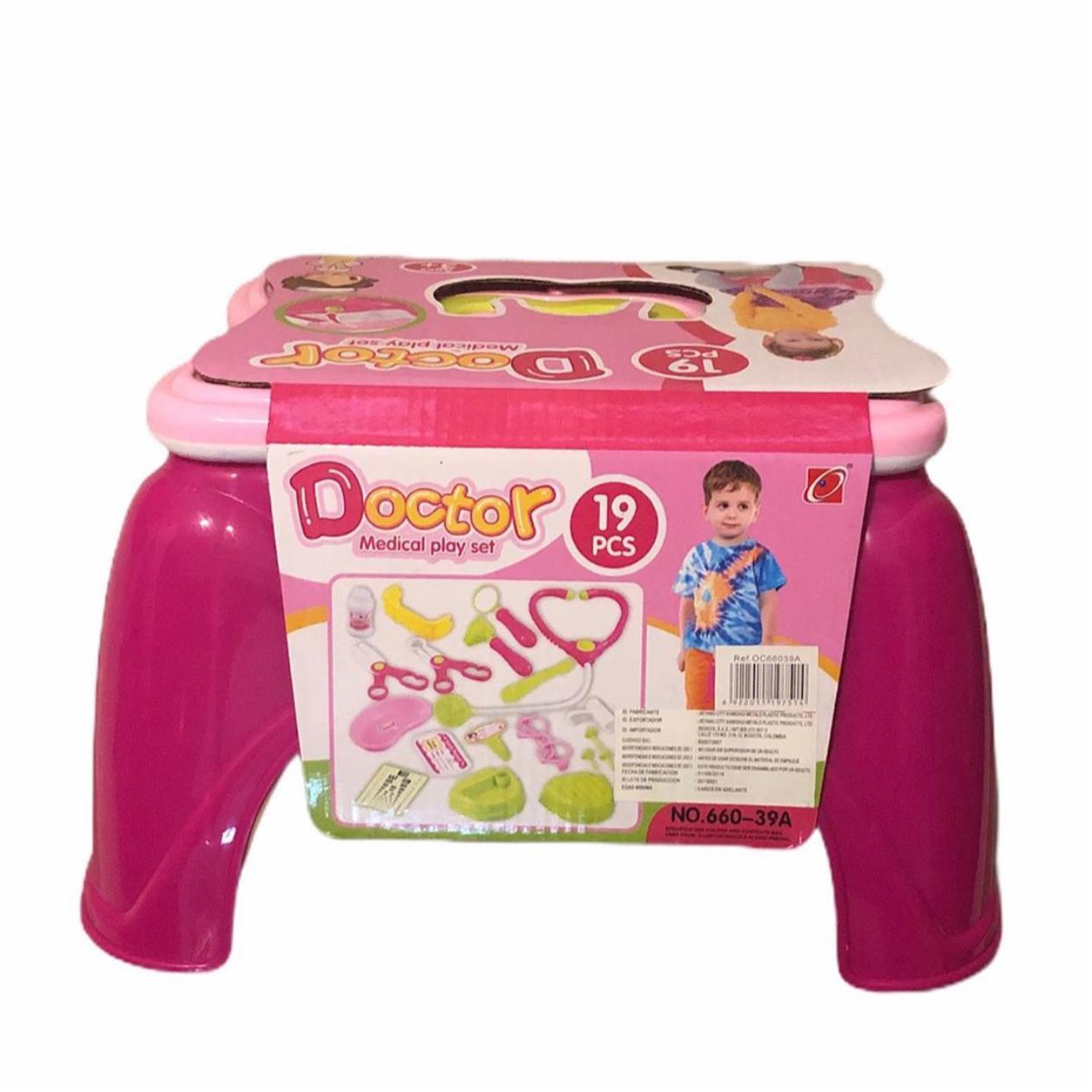 Play set doctor rosado