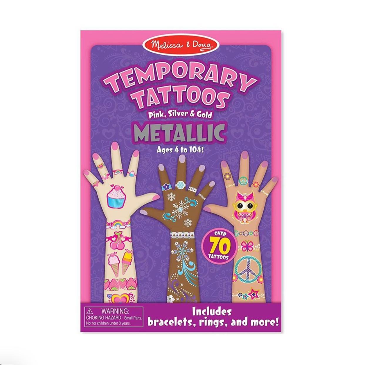 Tatuajes Temporales metalicos