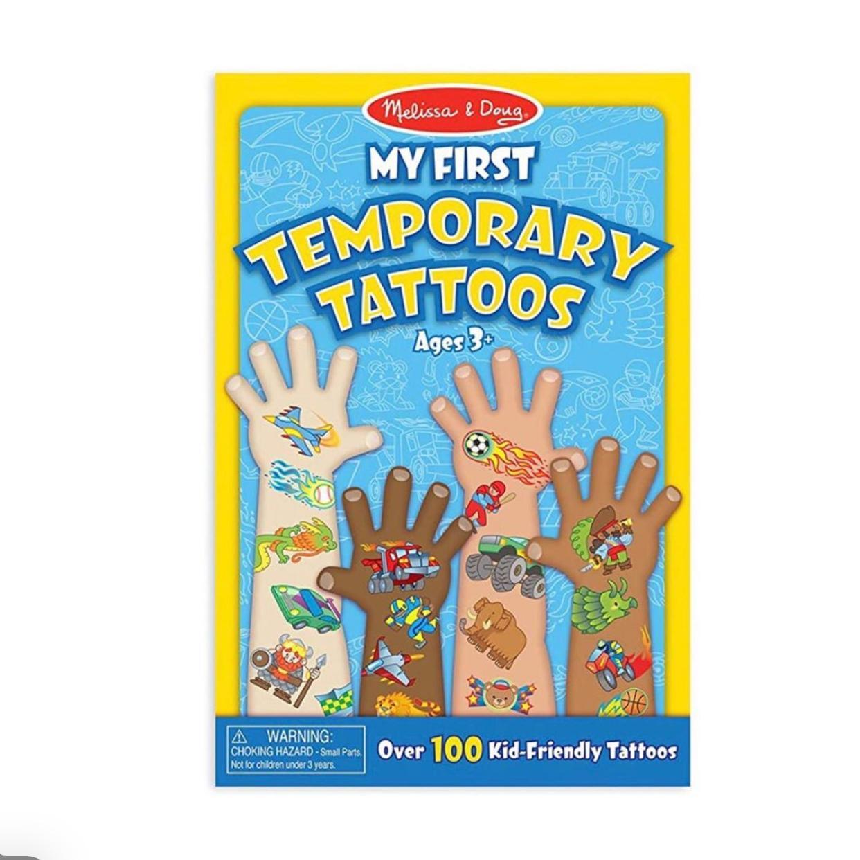 Tatuajes Temporales niño