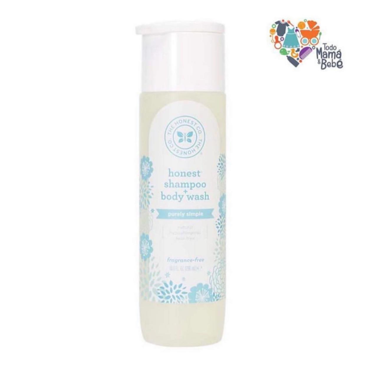 Shampoo para cabello y cuerpo sin fragancia