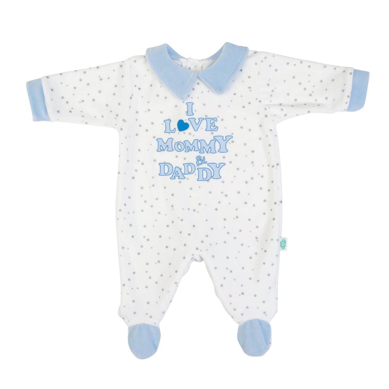 Pijama Azul I love