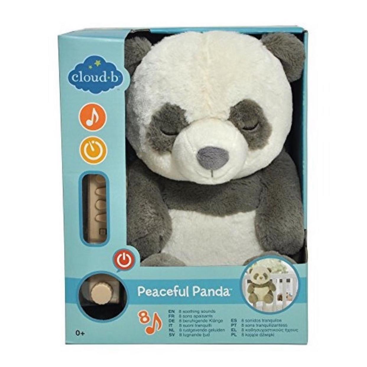 Panda con sonido para dormir