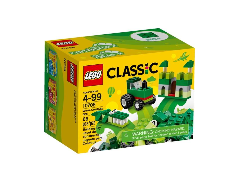 LEGO CAJA CREATIVA VERDE