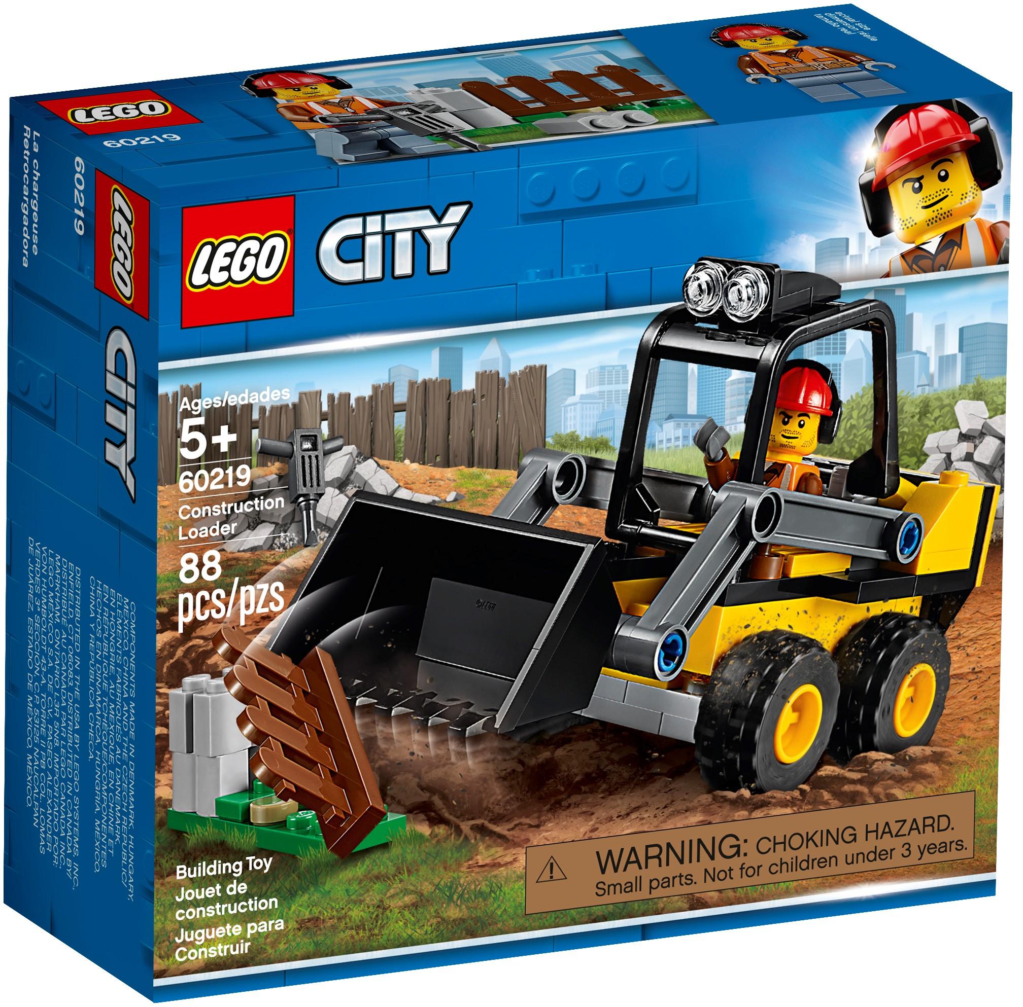 LEGO CITY CONSTRUCTION 88 PZS