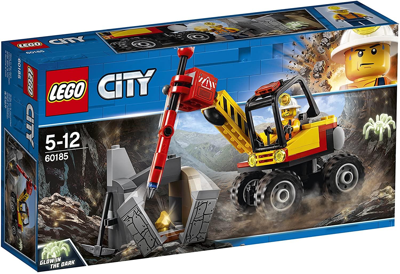LEGO CITY MAQUINARIA DE MINEROS