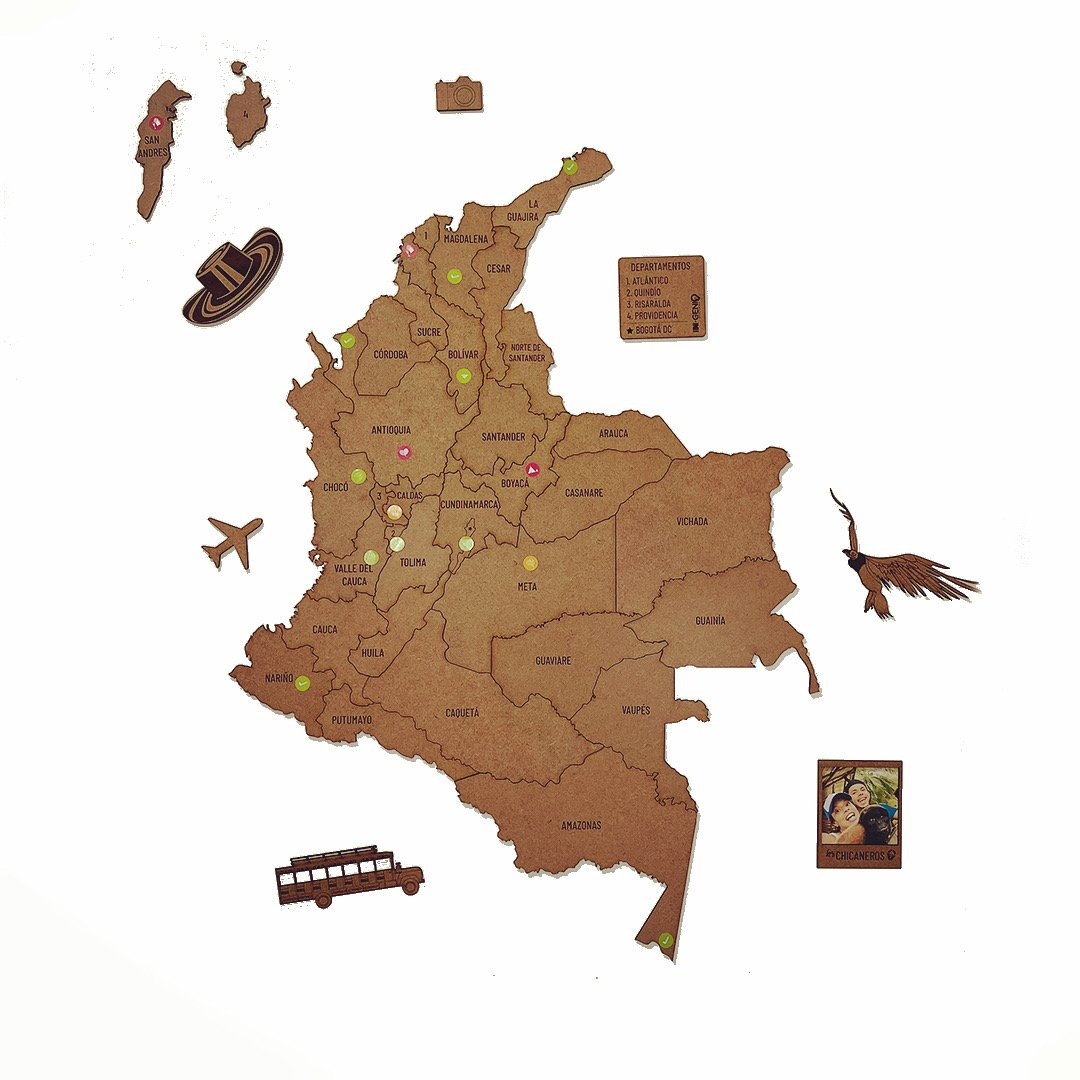 MADEMAP COLOMBIA
