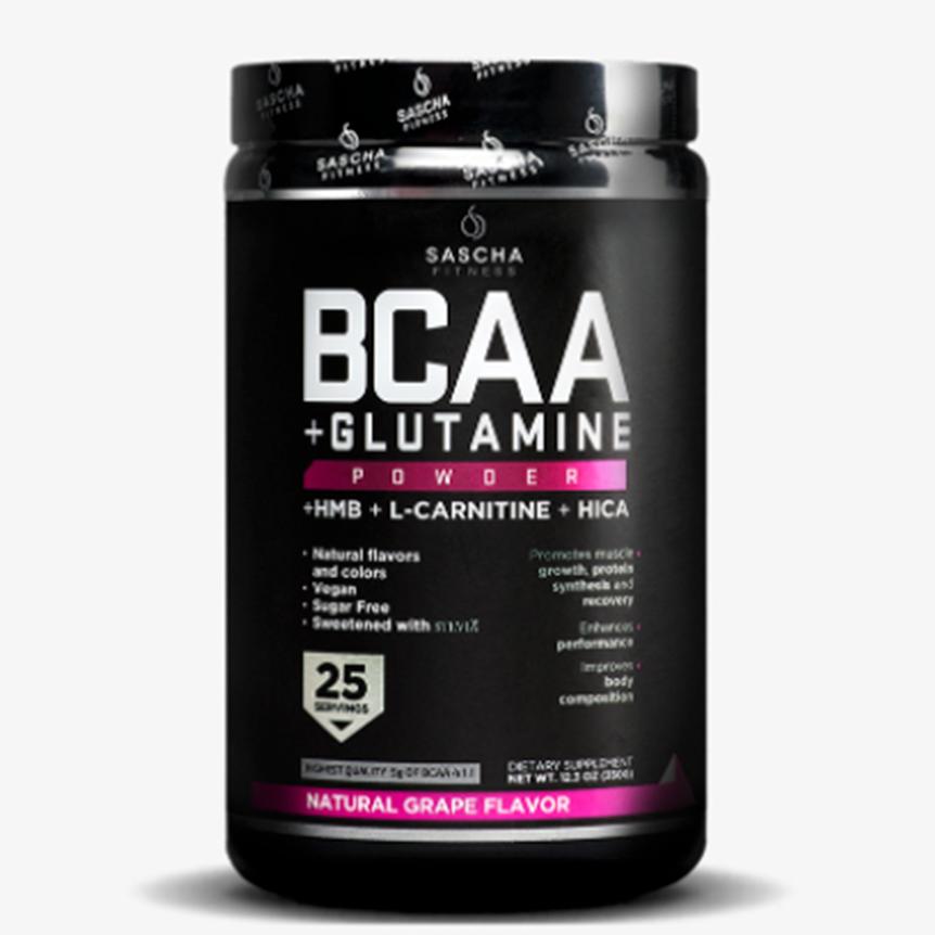 BCAA + GLUTAMINA  UVA 356G