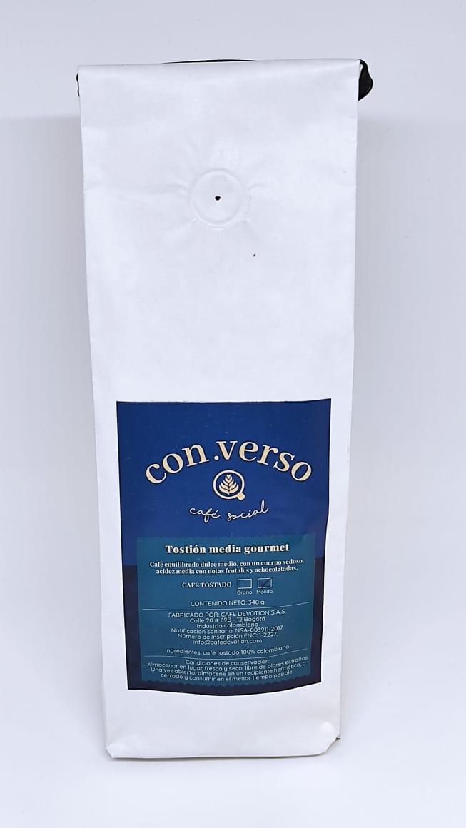 BOLSA CAFÉ CON.VERSO