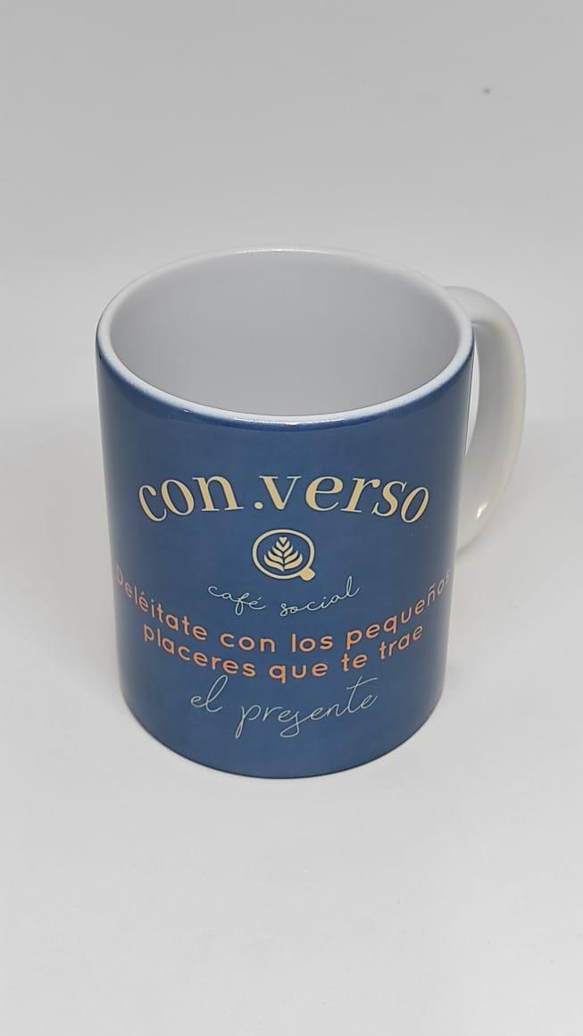 MUGS CAFÉ CON.VERSO AZUL