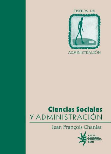 CIENCIAS SOCIALES Y ADMINISTRACION