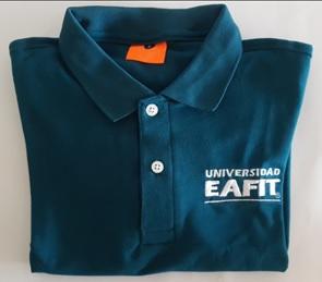 Camiseta EAFIT Tipo Polo Hombre