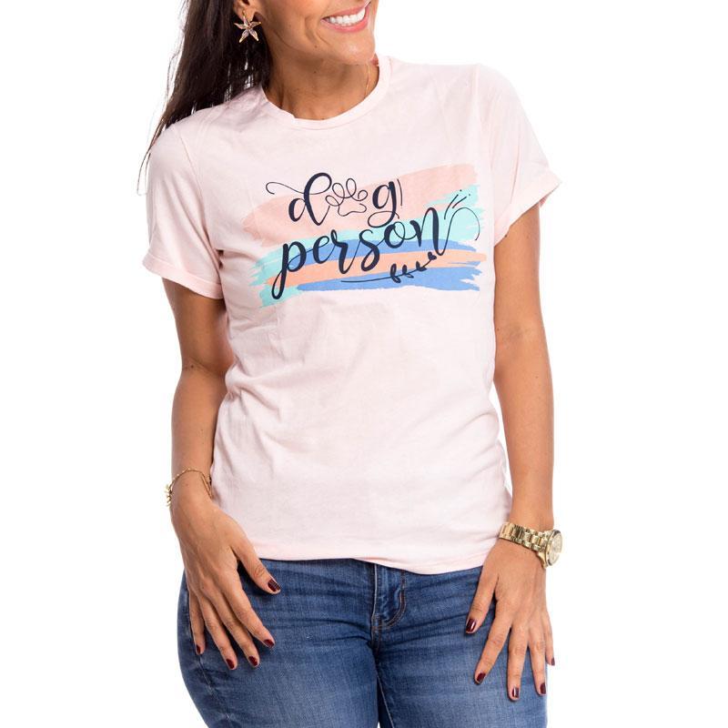 Camiseta dog person
