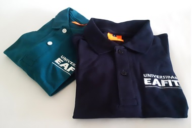 Camiseta EAFIT tipo polo mujer