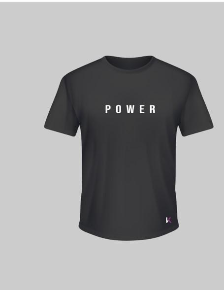 Camiseta power negra Kratos