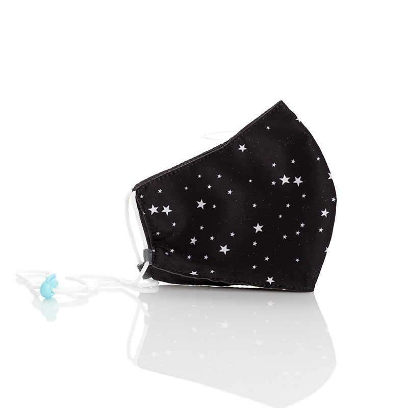 Tapabocas ajustable estrellas
