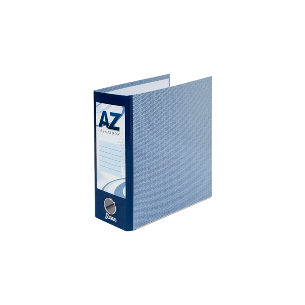 A-Z 1/2 OFICIO NORMA AZUL PLASTIFICADA