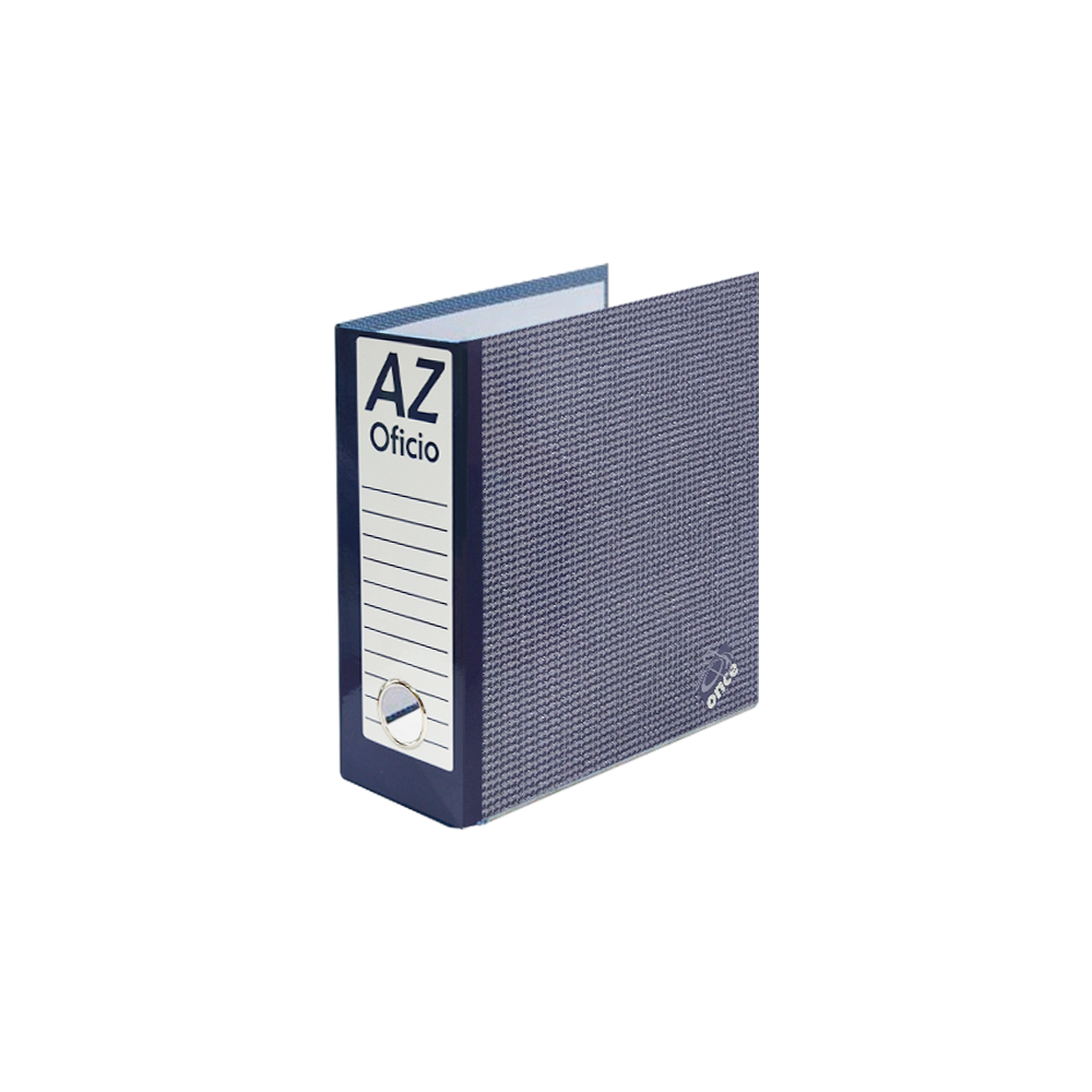 A-Z 1/2 OFICIO ONCE PLASTIFICADA
