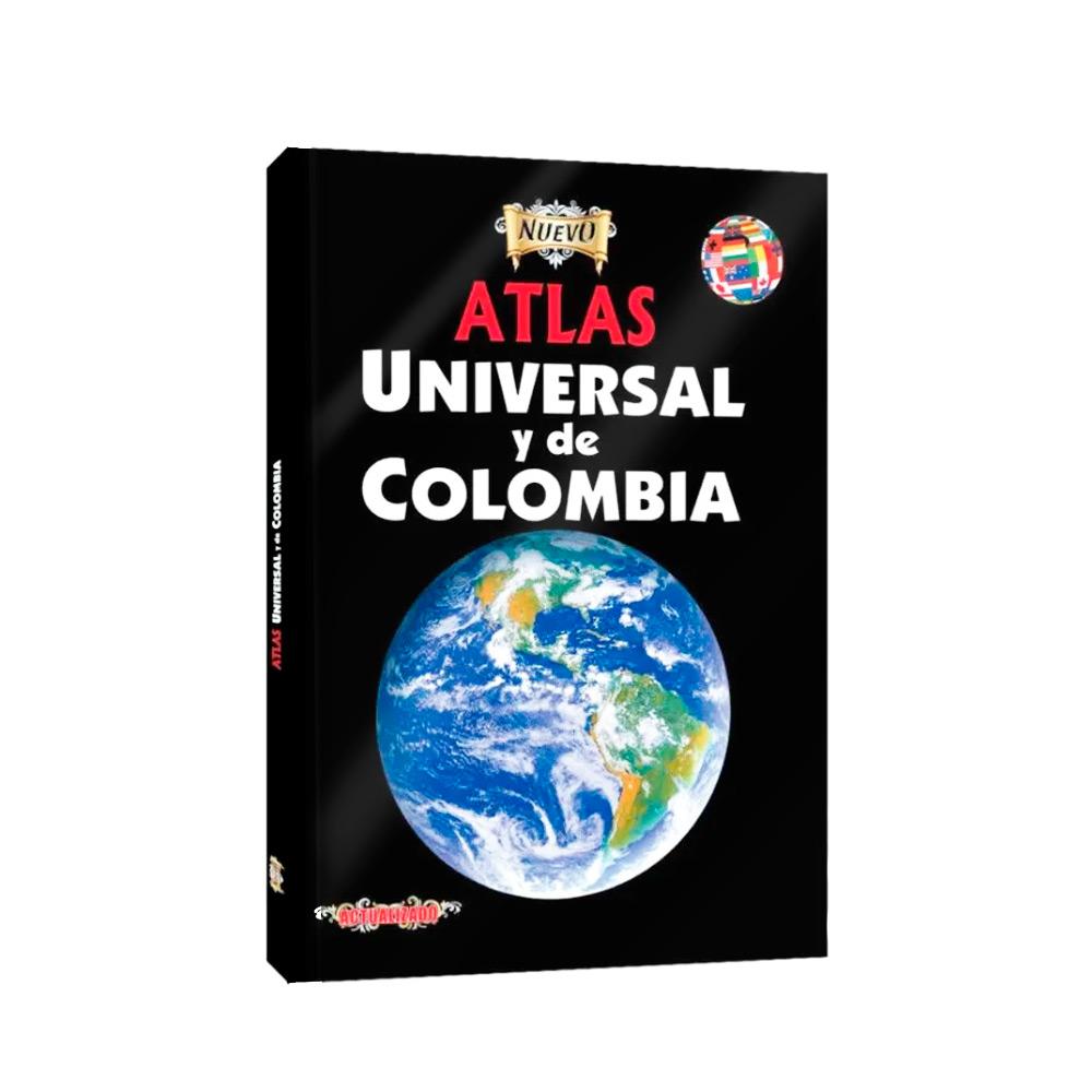 ATLAS UNIVERSAL Y DE COLOMBIA PASTA DURA NIKA