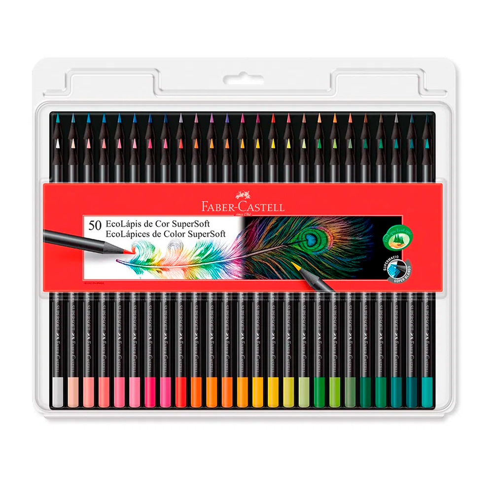 COLOR FABER SUPERSOFT x 50 UN.
