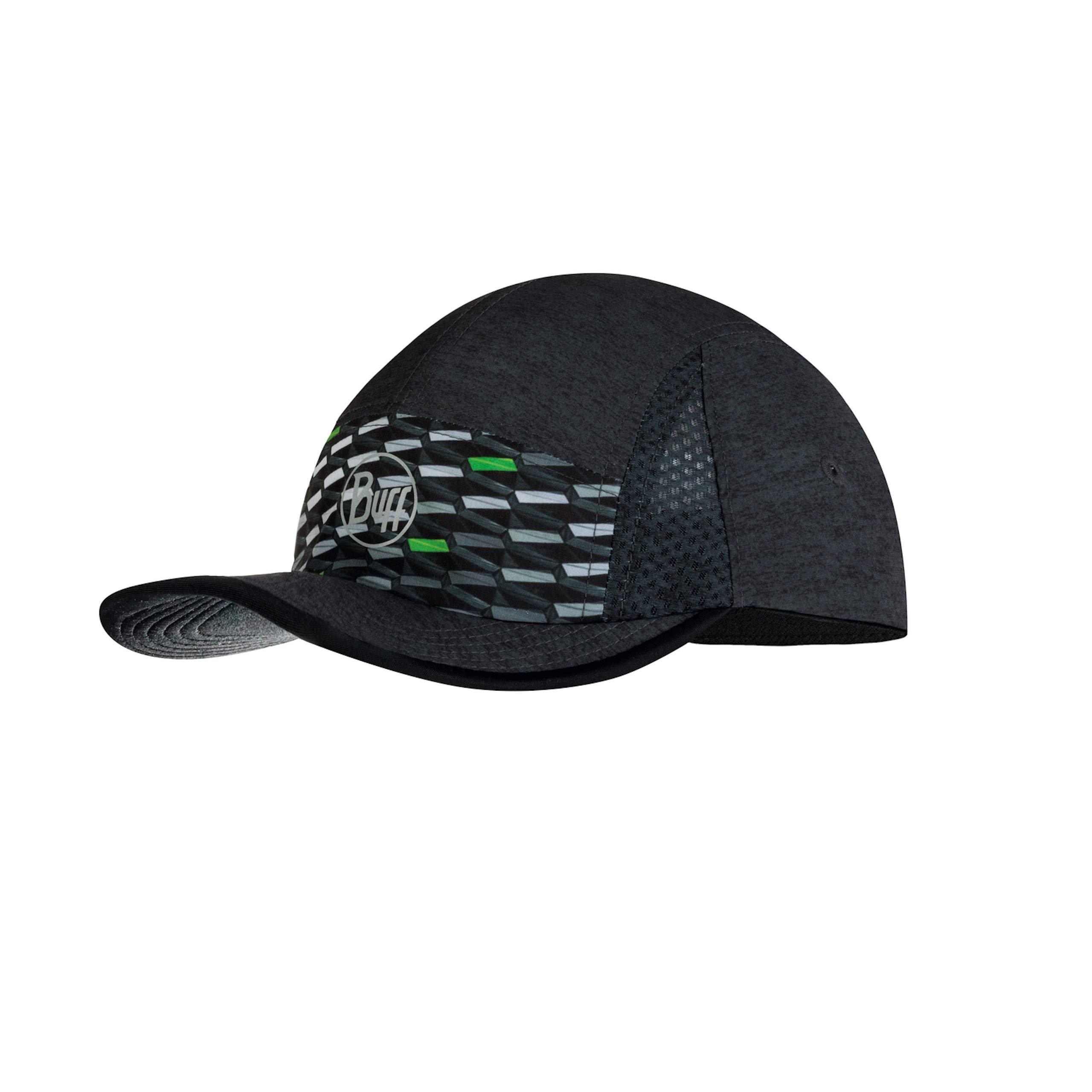 BUFF RUN CAP R-GEOTRIK BLACK