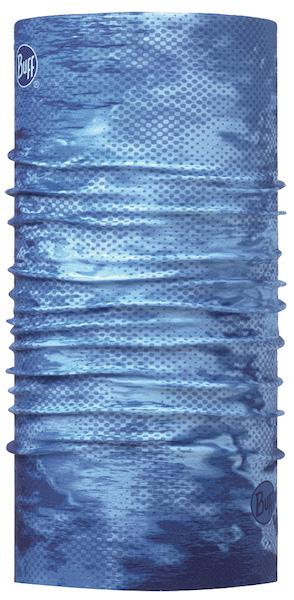 BUFF UV COOLNET UV+ PELAGIC CAMO BLUE