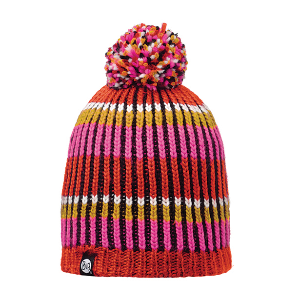 BUFF KNITTED Y POLAR HAT TROY PINK FLUOR
