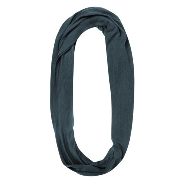 BUFF MERINO WOOL INFINITY GREY