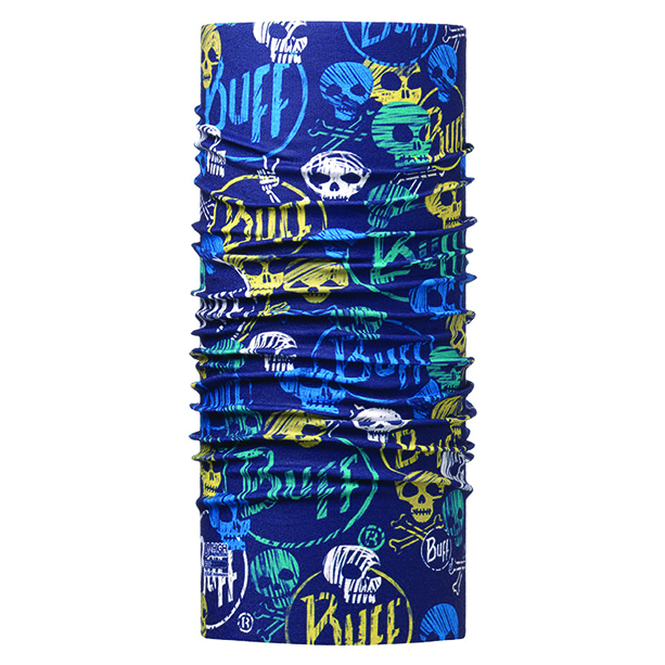 BUFF JUNIOR HIGH UV FUNNY SKULLS DARK NAVY