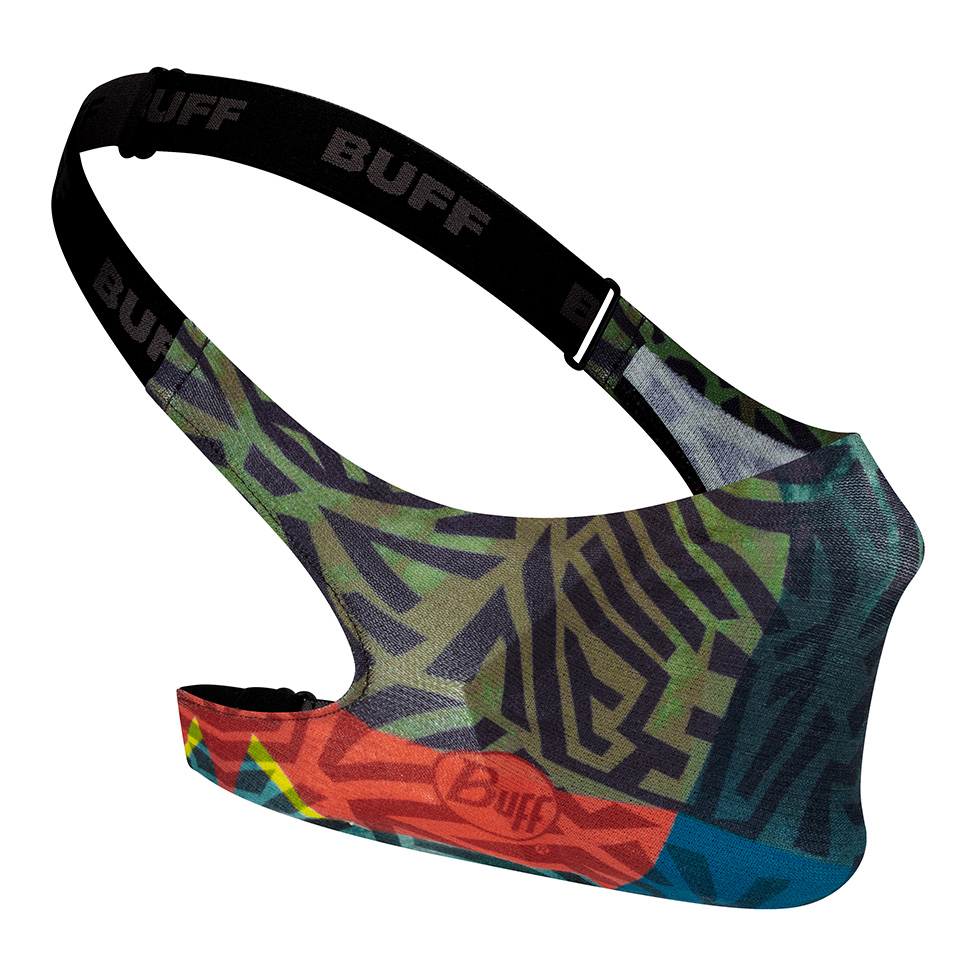 BUFF FILTER MASK KIDS STONY GREEN-GREEN