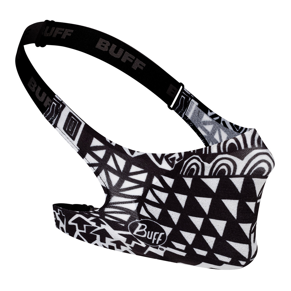 BUFF FILTER MASK KIDS BAWE BLACK-BLACK