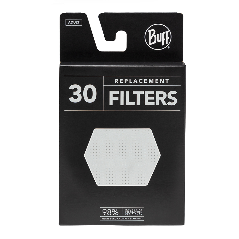 BUFF FILTER 30 ADULT-WHITE