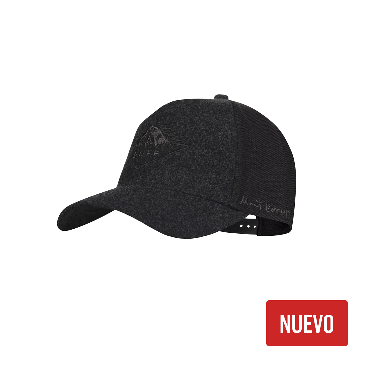 BUFF SNAPBACK CAP MOUNT EVEREST BLACK