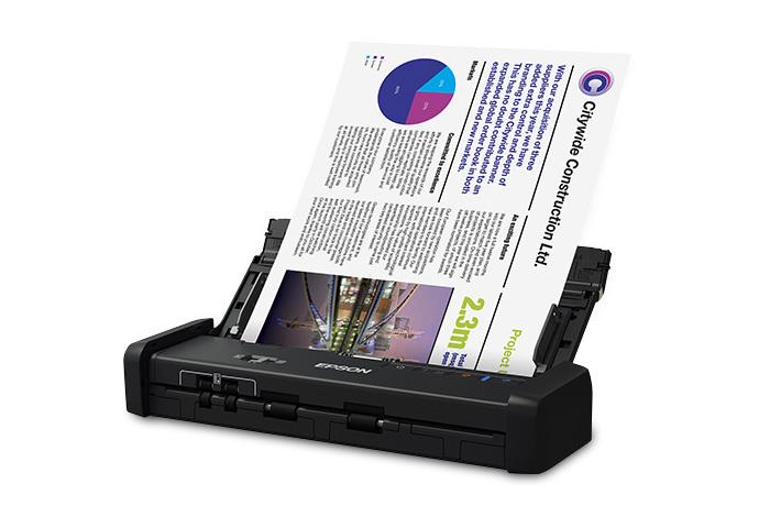 Epson DS-320 Escáner dúplex portátil para documentos