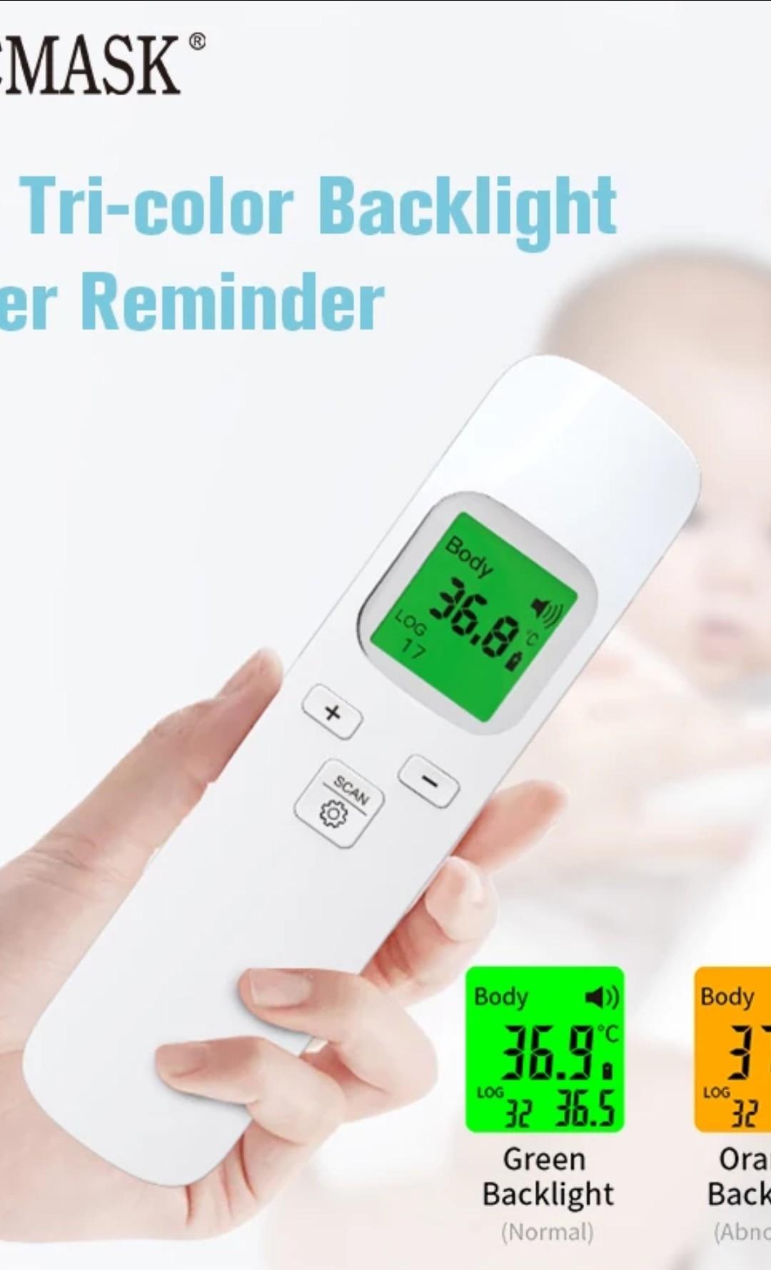 b. Termometros Infrarojo