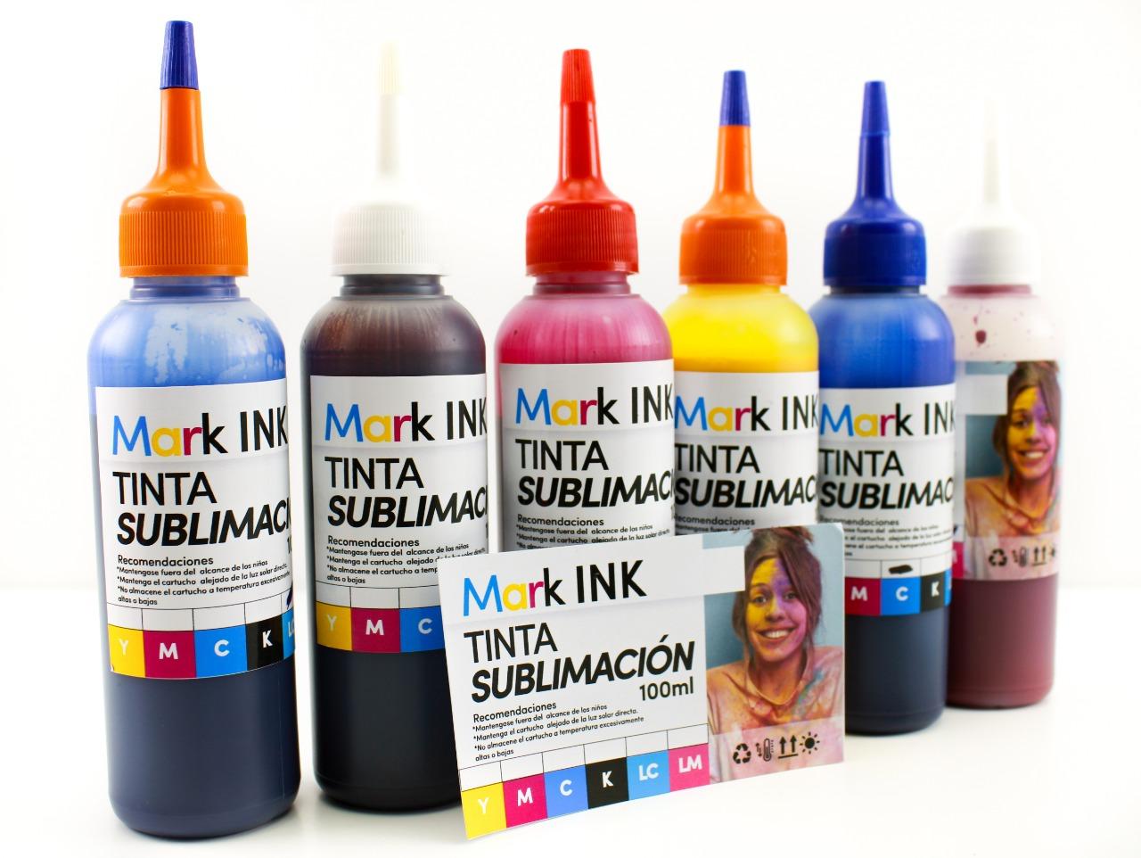 Tinta Para Sublimacion MARKINKS(*) 100 ml