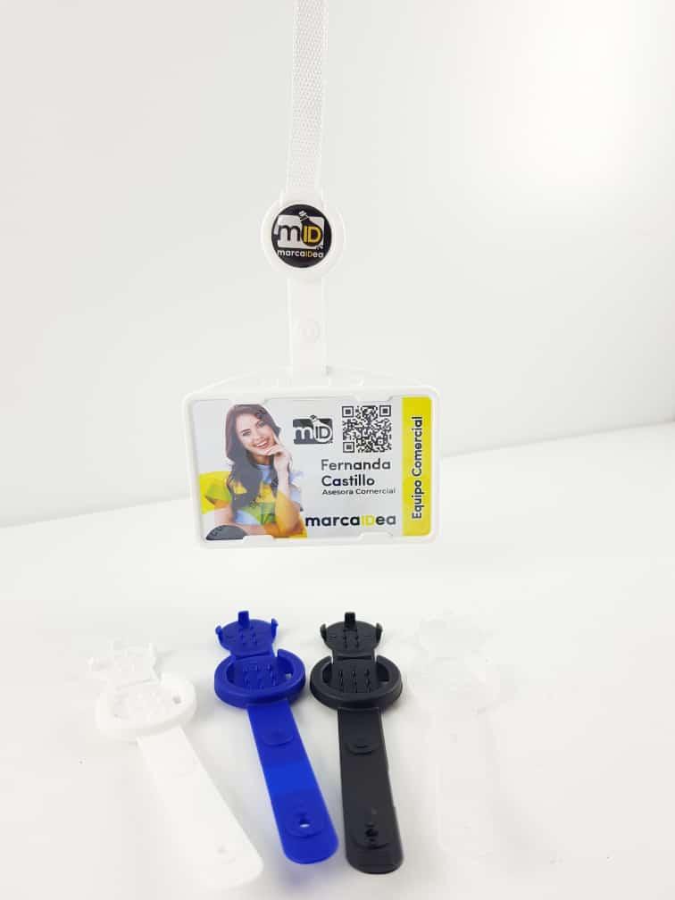 Gancho Mosqueton Plastico Personalizable x 50 Unidades