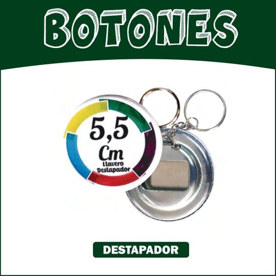 Boton Llavero destapador 5.5 cm