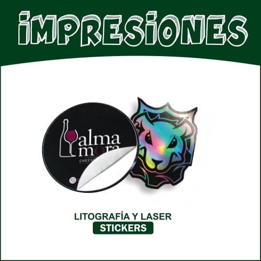Sticker adhesivo seguridad