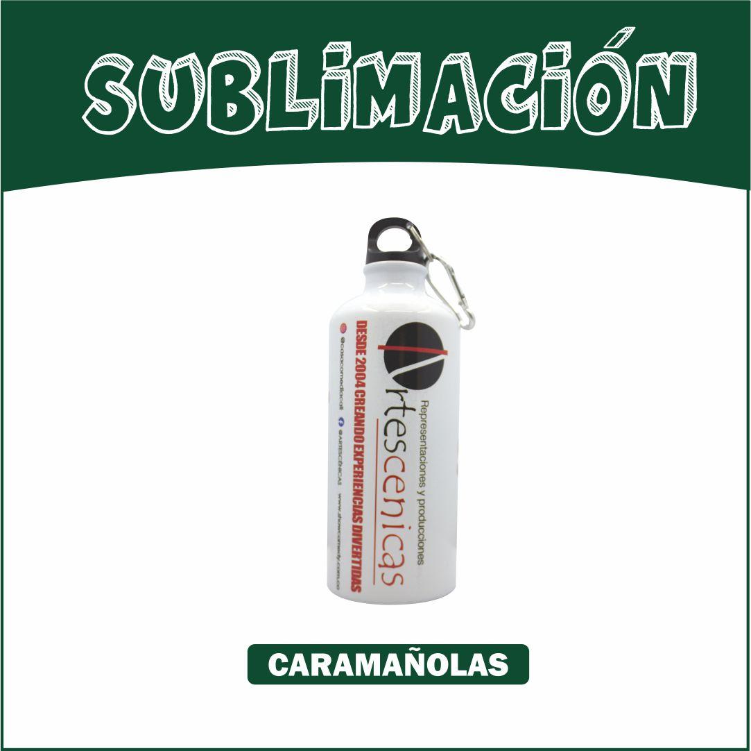 Caramañola Blanca 600 ml