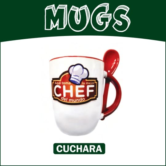 Mugs Cuchara